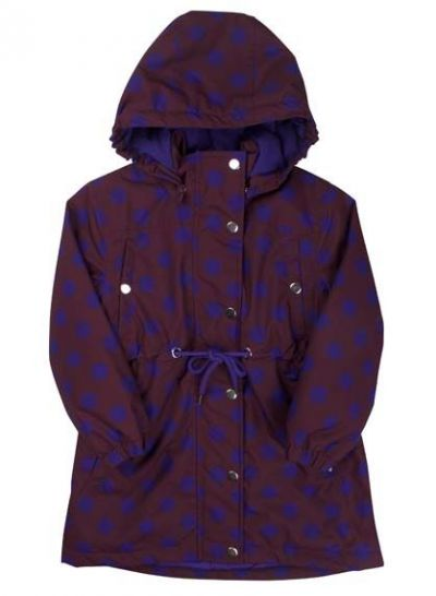 Cookie Winter Jacket Dark Bdx/Purple Blue DOTS