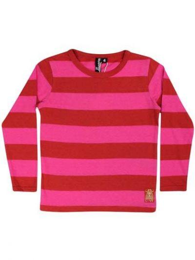 Rocky LS Dk Rust/Hot Pink