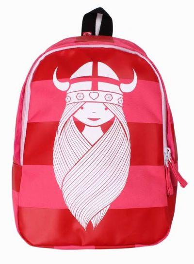 Kiddo Backpack Boldpink/Deep Red FREJA