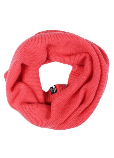 ESS - Cashmere Neckwarmer Electric Coral