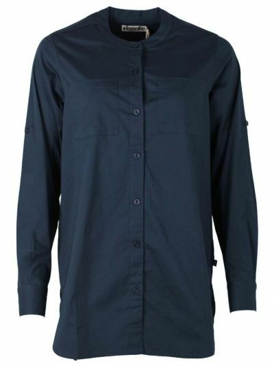 ESS - Joy Poplin Shirt Navy
