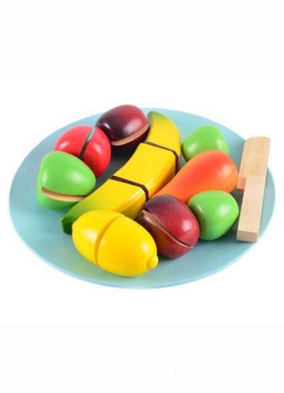 Magni Frugt i Træ Multi Colors