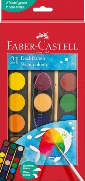 Faber Castell Dækfarver 21 Stk