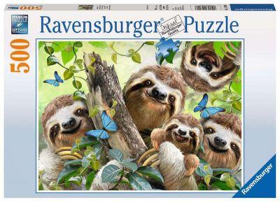 Ravensburger Puzzle 500 Brk Sloth Selfie