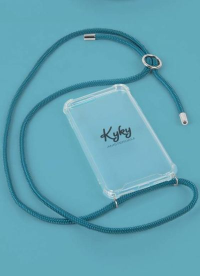 Kyky Iphone 7/8 Cover Aqua SILVER