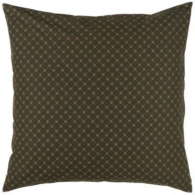 Ib Laursen Pudebetræk Mørkebrun/Kobber mønster
