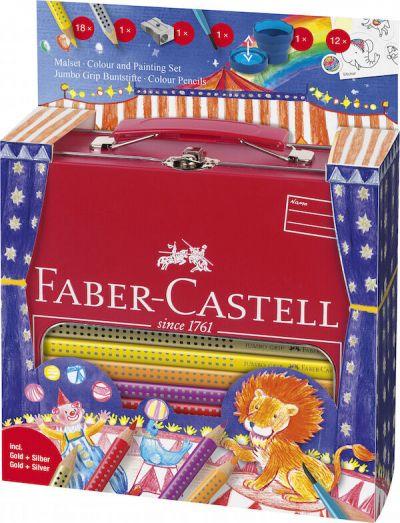 Faber Castell Tin Kuffert Cirkus