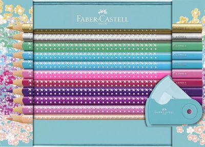 FAber Castell Sparkle Tinæske 20 Stk + Spidser