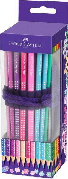 Faber Castell Sparkle i rulle 20 farver Spidser+viskelæder