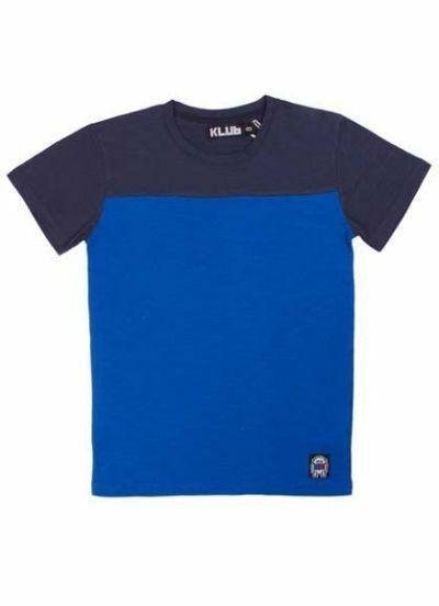 Louis Tee Navy/Proud blue