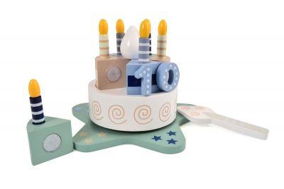 Magni Fødselsdagskage Med musik og tal
