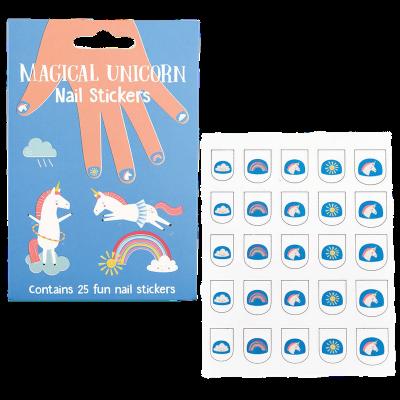 RL Nail Stickers Magical Unicorn