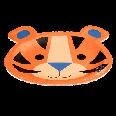 RL Paper Plates Ziggy the tiger