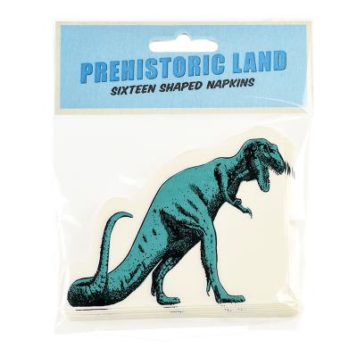 RL Napkins (Pack of 16) Prehistoric land