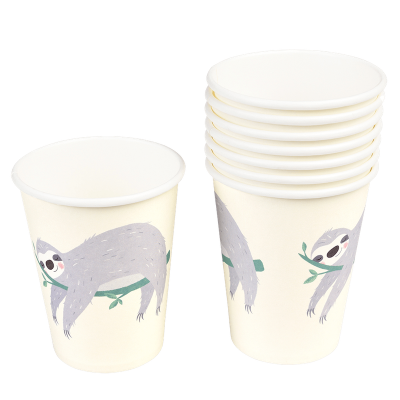 RL Paper Cups Sydney the sloth