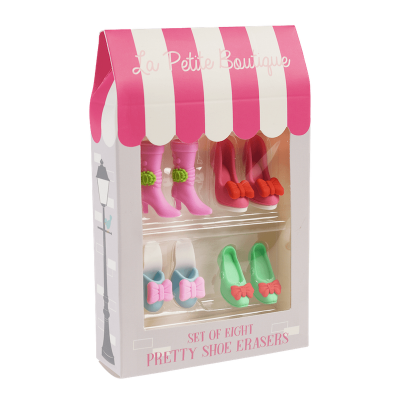 RL Eraser Set Shoe 8 Stk