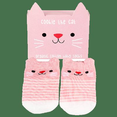 RL Socks Cookie the cat