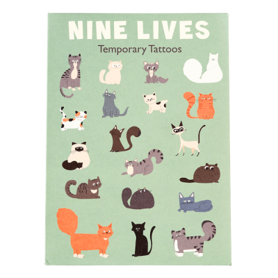 RL Temporary Tattoos Nine Lives