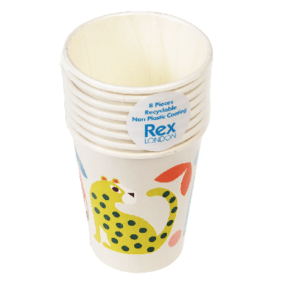 RL Paper Cups Wild Wonders
