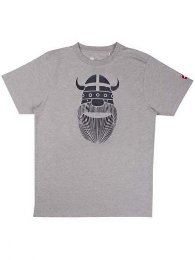 Mande Tee X Heather Grey ERIK flag