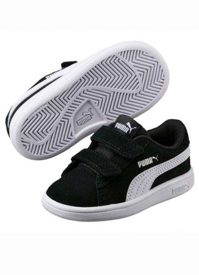 Puma Smash Baby Black/White