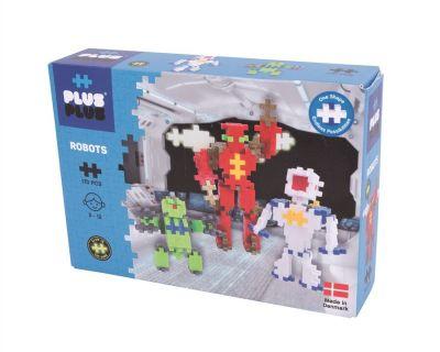 Plus Plus Construction Toy 170 Pcs Robots