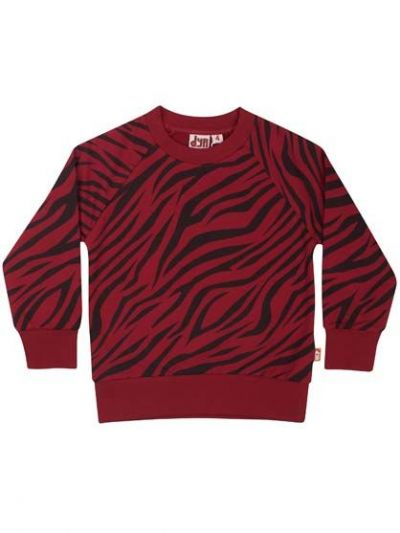 Bellow Sweat Deep Red Tigerstripe