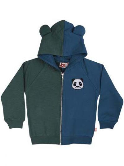 Panda Zip-Up Grey Duck/Dark Blue PANDA