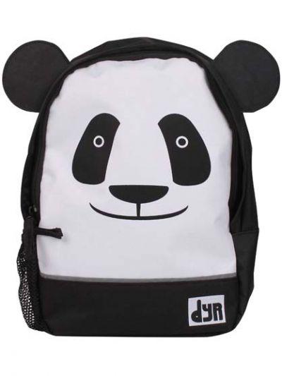 DYR Kids Backpack Black/white PANDA