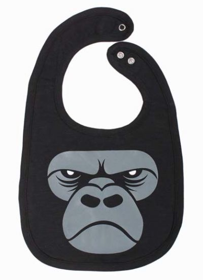 Munchie Bib Black GORILLA