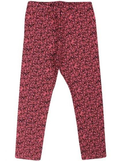 Tundra Leggins Dark Rose MINI LEOPARD