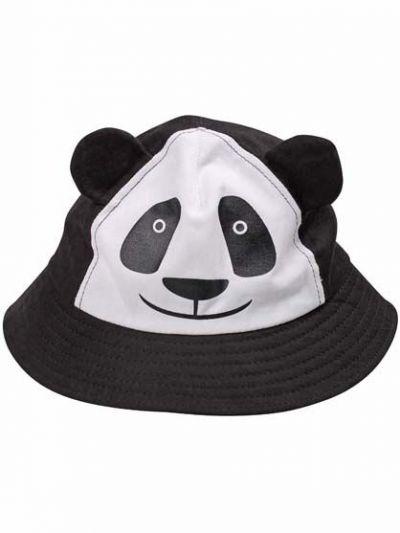 Panda Bucket Hat Black/white