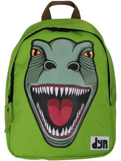 DYR Kids Backpack Green T-REX
