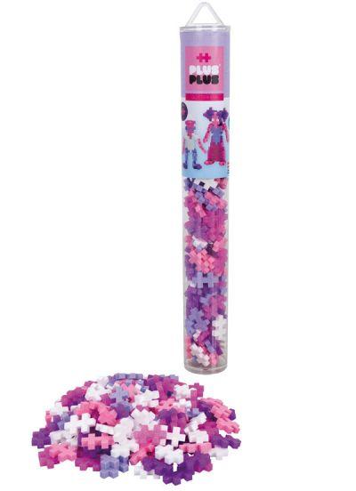 Plus Plus Tube 100 PCS Glitter Mix