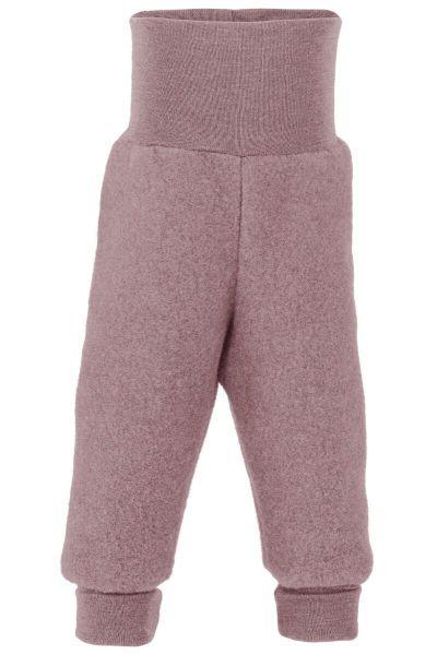 Engel Natur Baby Pants Long w.Waistband Rosewood Melange