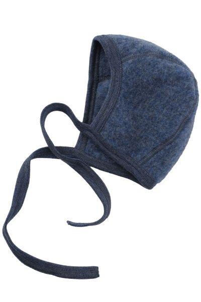 Engel Natur Baby Bonnet Blue Melange