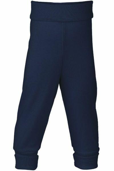 Engel Natur Baby Pants w.waistband GOTS Navy