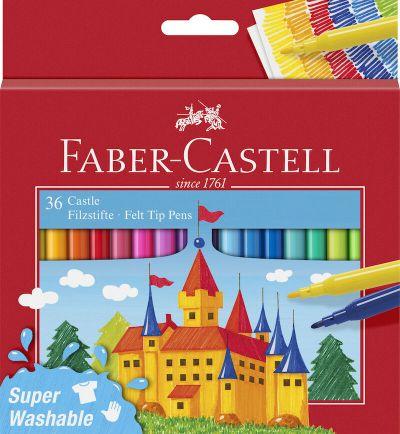 Faber Castell Tusser 36 Stk Assorteret