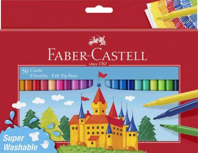 Faber Castell Tusser 50 Stk Assorteret