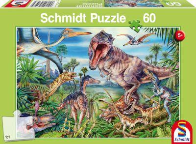 Schmidt Puzzle 60 Brk Dinosaur