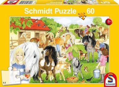 Schmidt Puzzle 60 Brk Fun on the pony