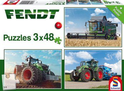 Schmidt Puzzle 3x48 Fendt