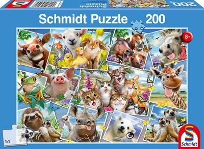 Schmidt Puzzle 200 Brk Selfies