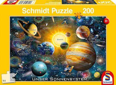 Schmidt Puzzle 200 Brk Our solar system