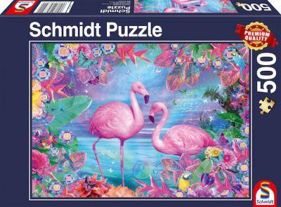 Schmidt Puzzle 500 Brk Flamingo