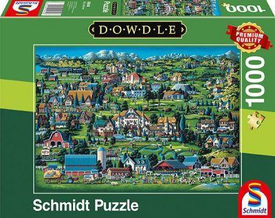Schmidt Puzzle 1000 Brk Dowdle Midway