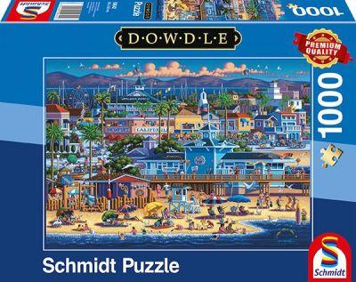 Schmidt Puzzle 1000 Brk Dowdle Newport