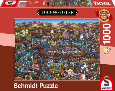 Schmidt Puzzle 1000 Brk Dowdle Solvang