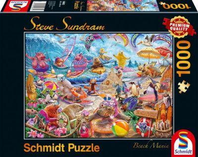 Schmidt Puzzle 1000 Brk Beach Mania