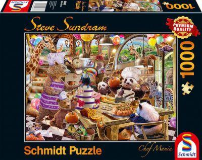 Schmidt Puzzle 1000 Brk Chef Mania